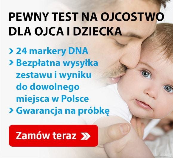 Testy na ojcostwo dla własnych celów